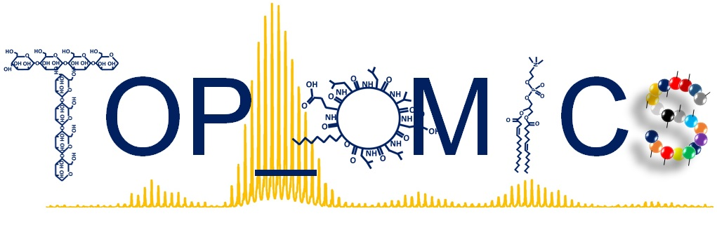 Logo MS4OMICS, TOPOMICS